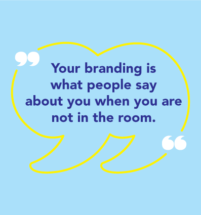 Your logo is your brand. But your brand is not your logo.